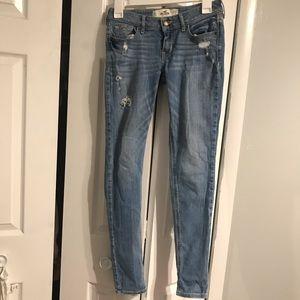 Hollister skinny jeans 0 short
